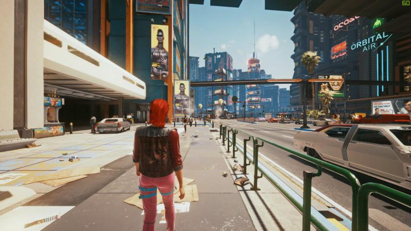 В Cyberpunk 2077 теперь можно играть от третьего лица благодаря моду