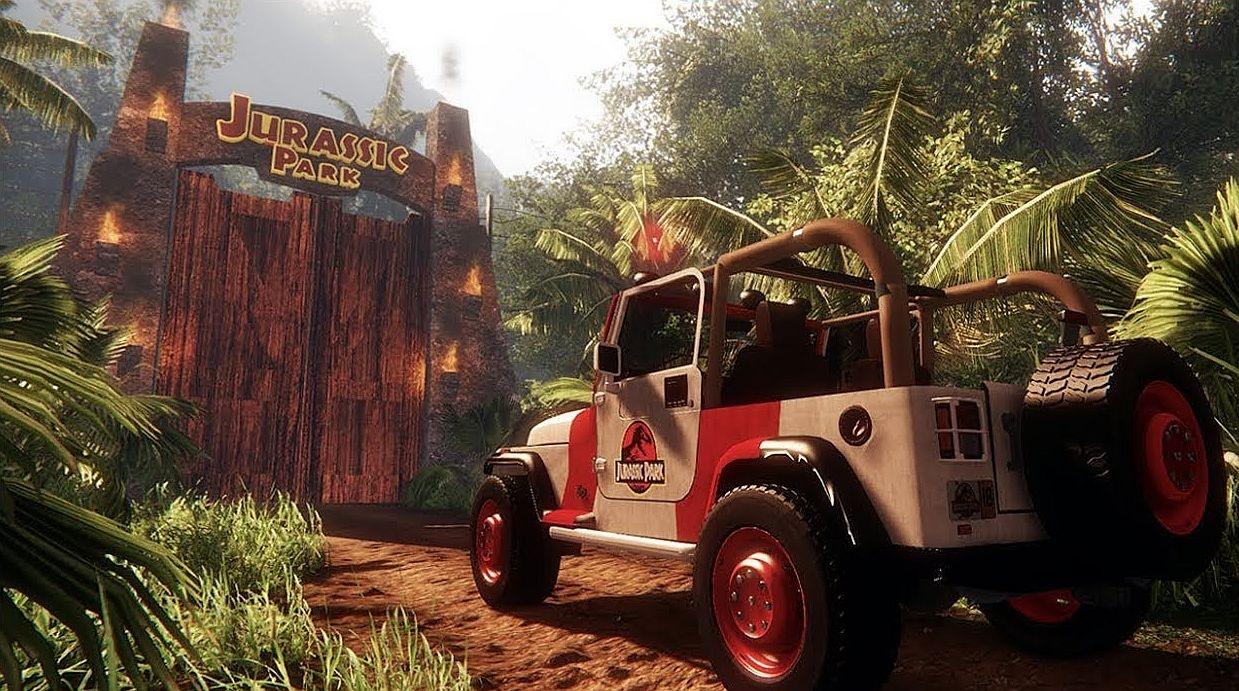Энтузиаст построил Парк юрского периода на CryEngine