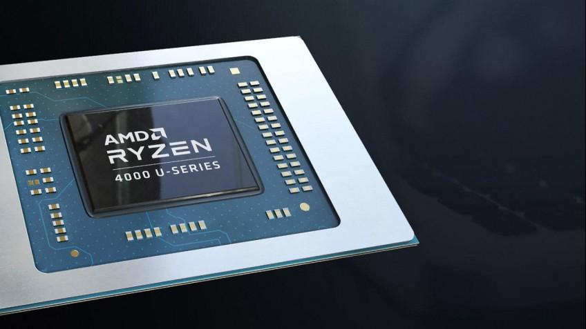 Мобильный процессор Ryzen7 4800U с теплопакетом15 Вт превосходит Core i7-1065G7