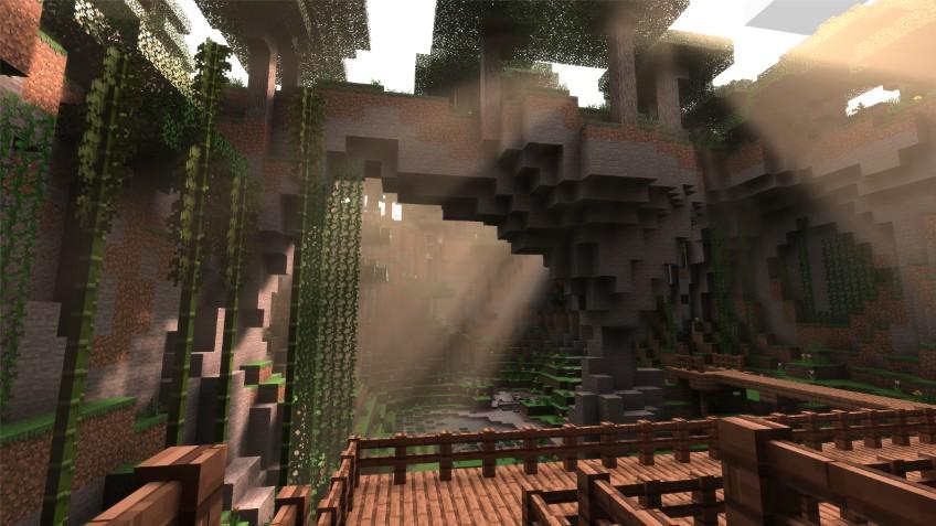 Minecraft получит RTX-трассировку лучей