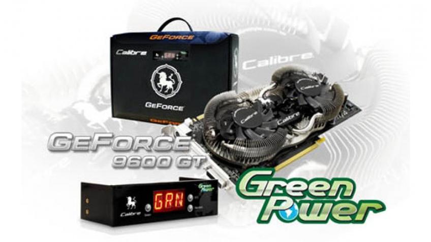 Sparkle представила «зеленый» GeForce 9600 GT