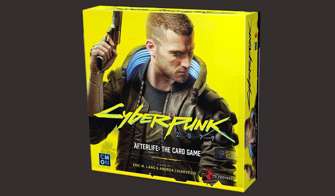 CD Projekt RED выпустит Cyberpunk 2077 — Afterlife: The Card Game
