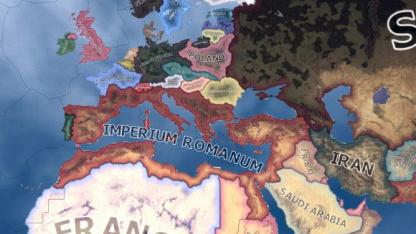 Римскую империю возродили в Hearts of Iron IV за рекордные 10 минут