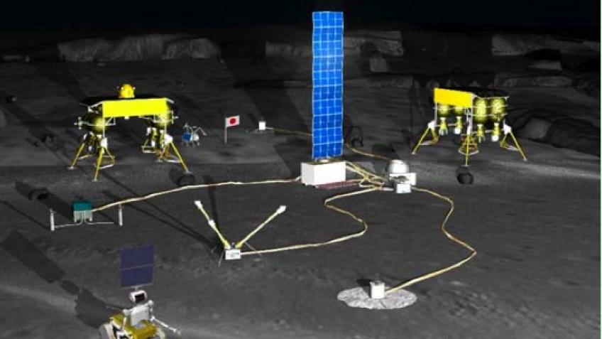Японцы населят луну роботами к 2015 году?