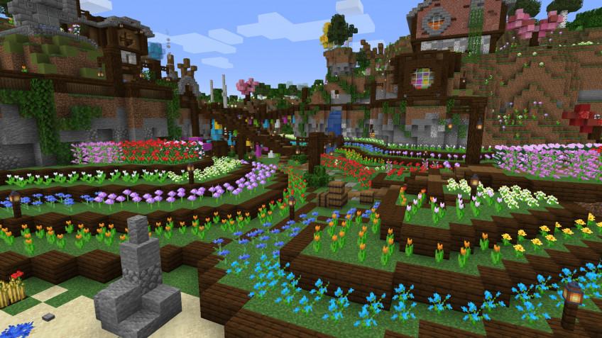Игроки Minecraft могут зарабатывать в качестве садовников