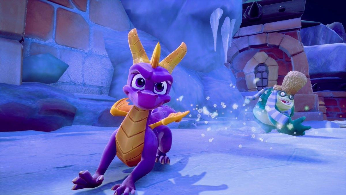 Поклонники Spyro смогут пройти Half-Life пурпурным драконом