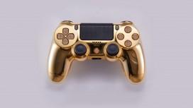 В продажу поступил контроллер PS4 из золота с бриллиантами