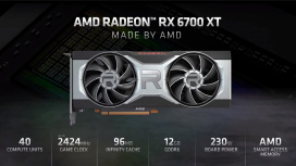 AMD анонсировала видеокарту Radeon RX 6700 XT — детали и цена
