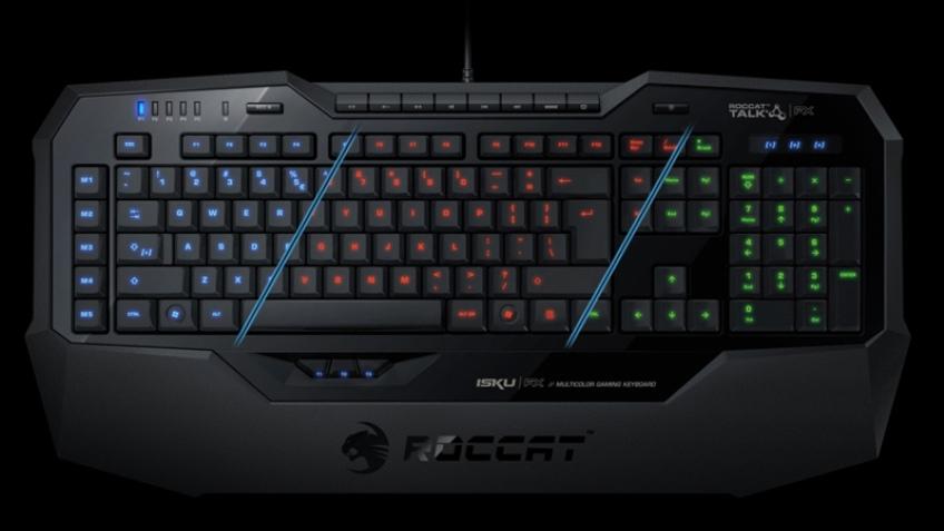 Игровая клавиатура Roccat Isku FX поступила в продажу
