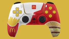 McDonald's по ошибке показала собственный дизайн контроллера для PS5