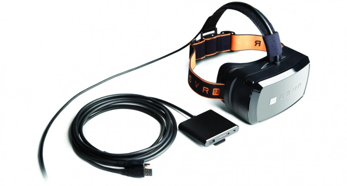 Razer показала систему виртуальной реальности OSVR