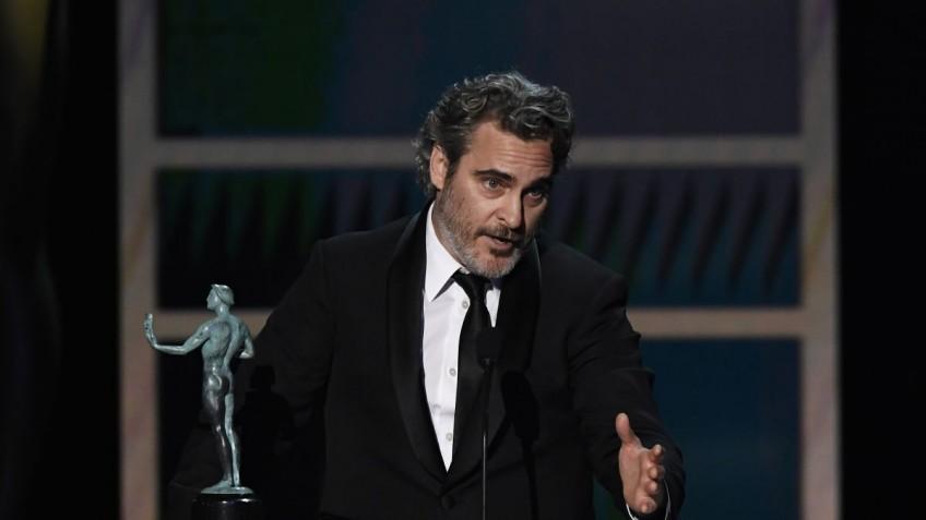 Хоакин Феникс отдал дань уважения Хиту Леджеру на SAG Awards 2020