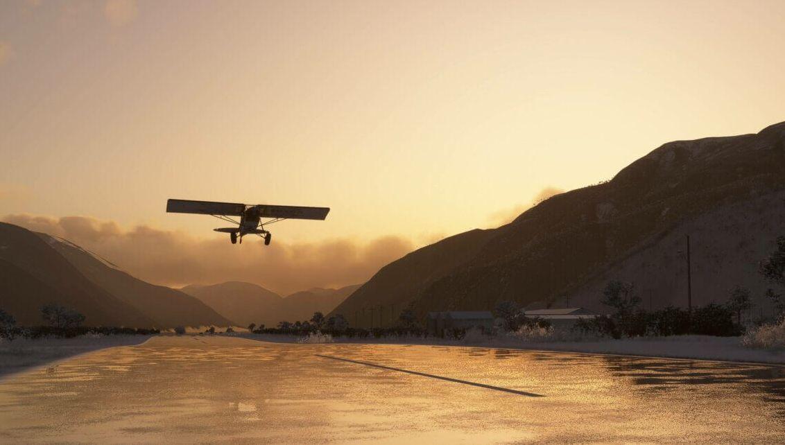 Авторы Flight Simulator работают над Британией и аэродинамикой