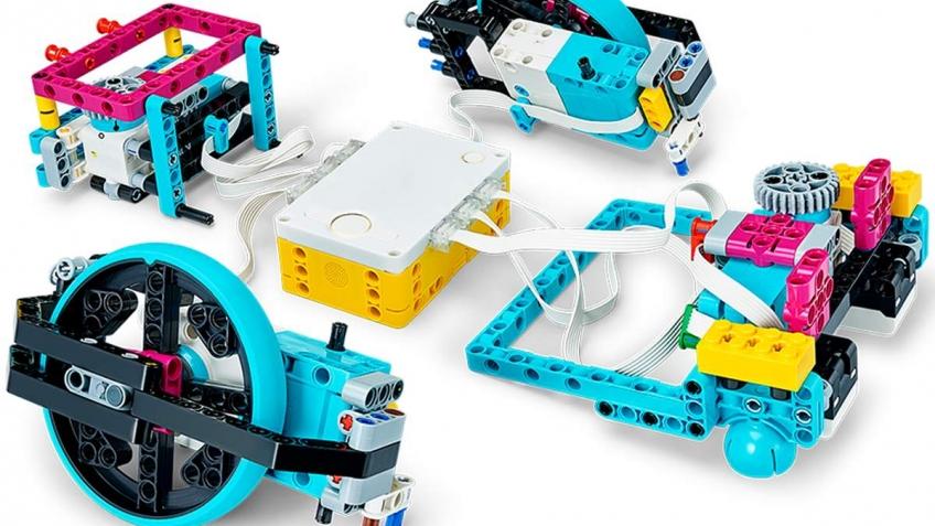 LEGO Spike Prime научит детей робототехнике и программированию