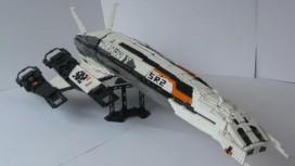 SR2 Normandy собрали из Lego