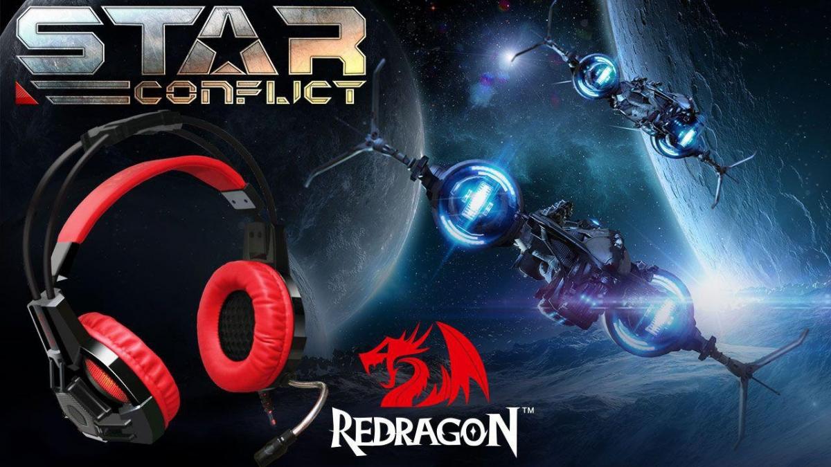 Star Conflict на обложке: выиграйте замечательные призы от Redragon!