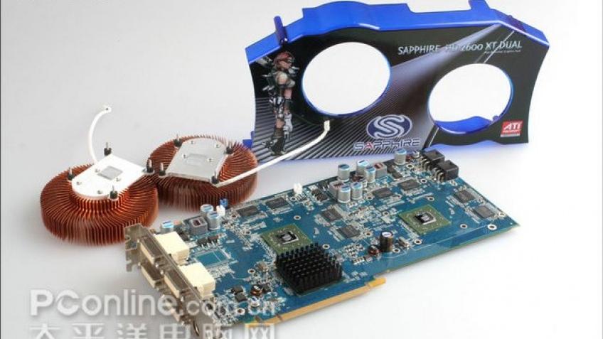 Первые фото двойного Radeon HD 2600