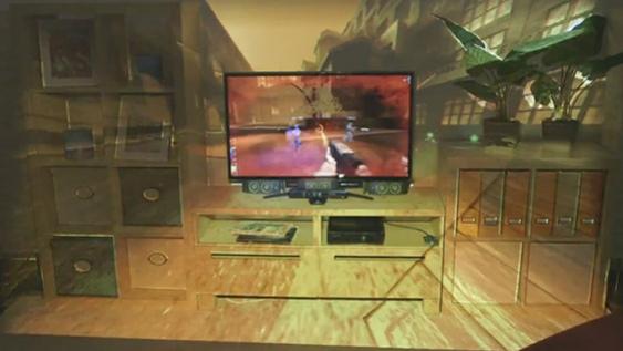 Microsoft превратит вашу гостиную в огромный телевизор