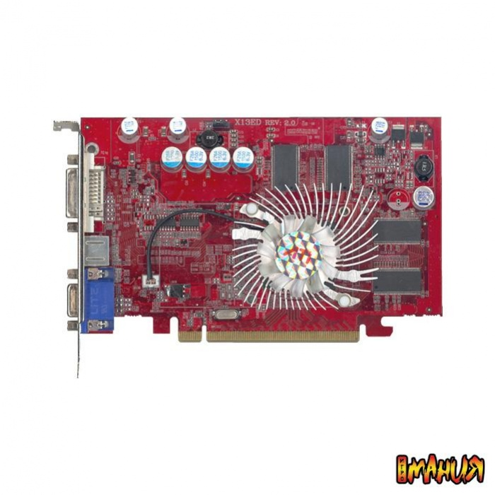 Radeon X1550 по версии Jetway
