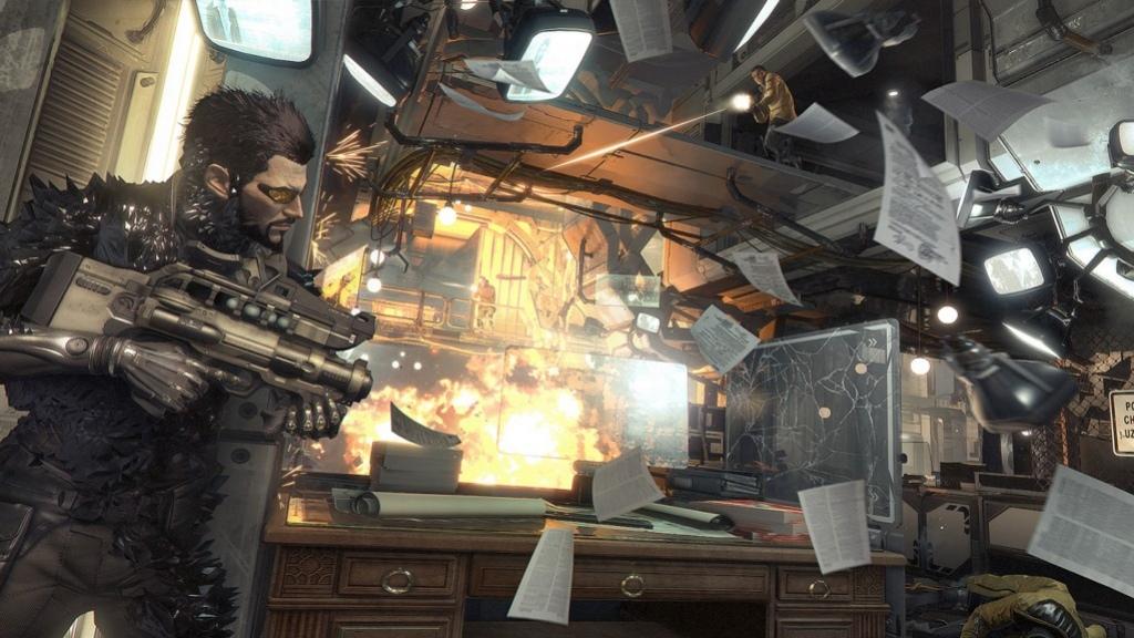 Square Enix показала новые ролики Deus Ex: Mankind Divided и анонсировала Deus Ex Go