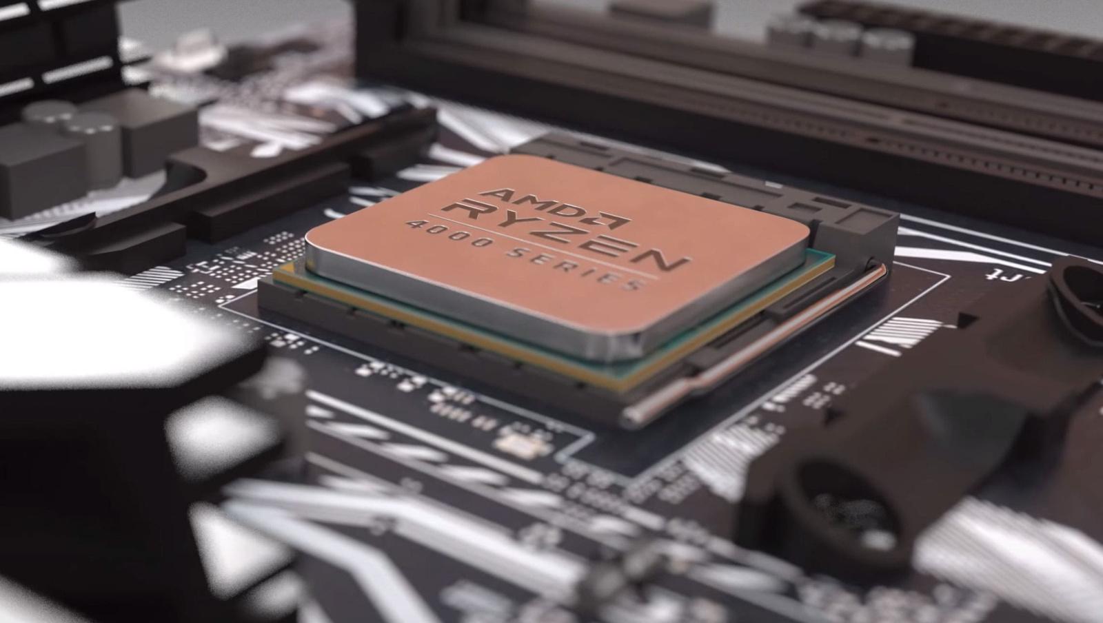 Названы цены гибридных процессоров AMD Ryzen 4000G Pro