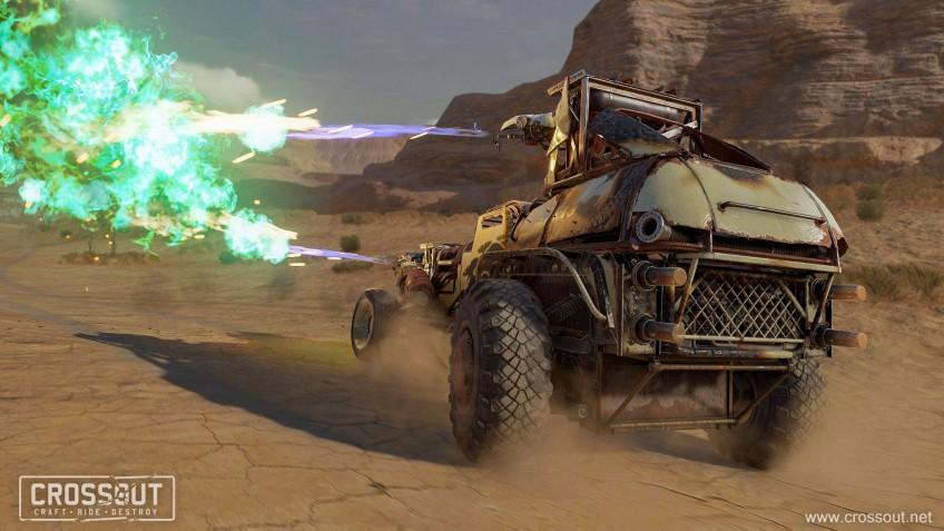 Доктор Чума и всадники Апокалипсиса: в Crossout пришло обновление 0.10.80