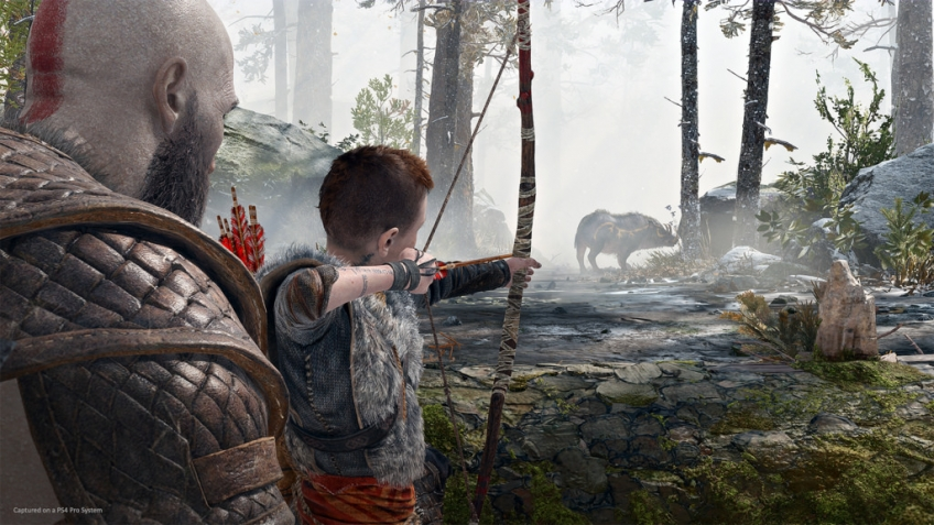 God of War: Кратос и Атрей приплыли в Варшаву