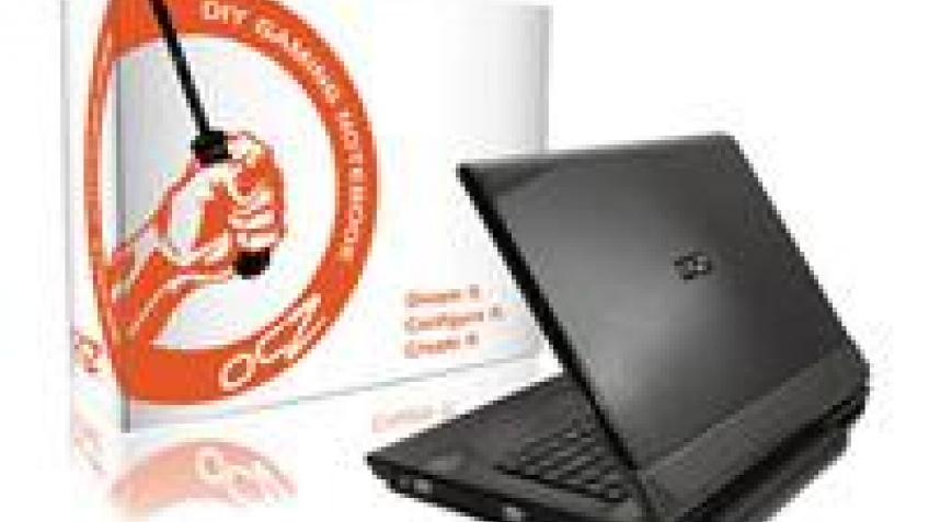 Платформа OCZ Barebone Gaming Notebook в продаже
