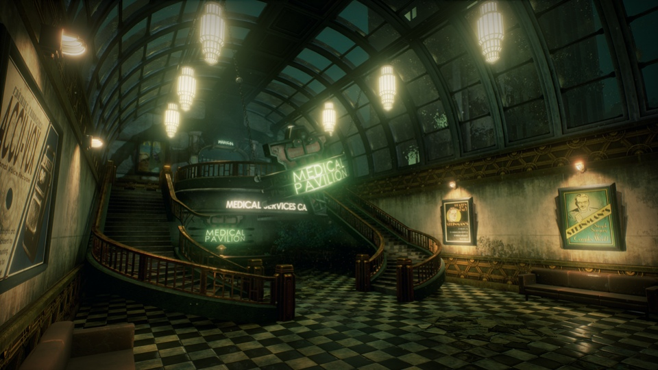 Студент воссоздал одну из локаций BioShock на движке Unreal Engine 4