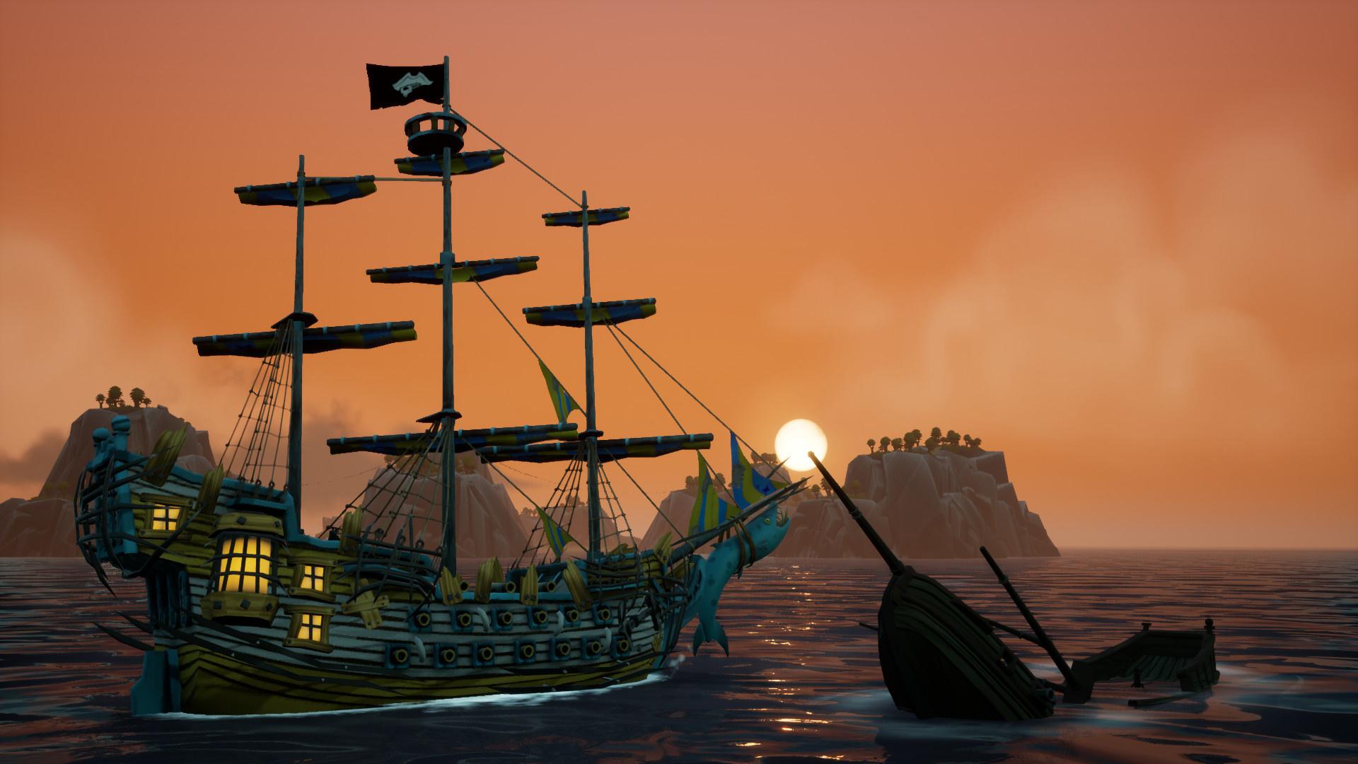 Игровой процесс пиратского боевика King of Seas показали в новом трейлере
