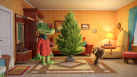 «Союзмультфильм» покажет новогодний мультфильм о Чебурашке и Крокодиле Гене