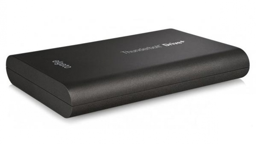 Elgato Thunderbolt Drive+ работает на скорости до 420 МБ/с