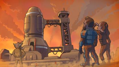 К фантастической выживалке CryoFall выпустили обновление «Одиночная Игра»