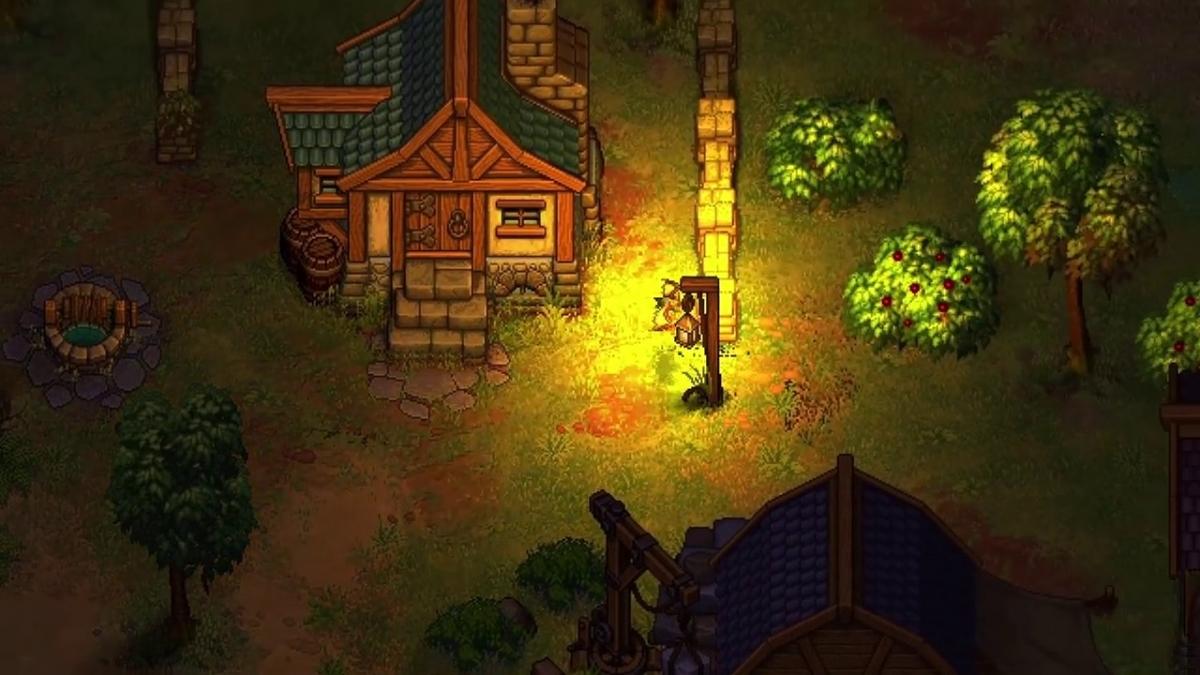 Авторы Punch Club показали игровой процесс Graveyard Keeper