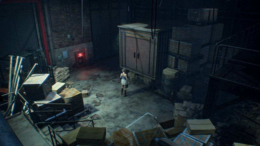 Как ремейк Resident Evil3 может выглядеть с классической камерой?