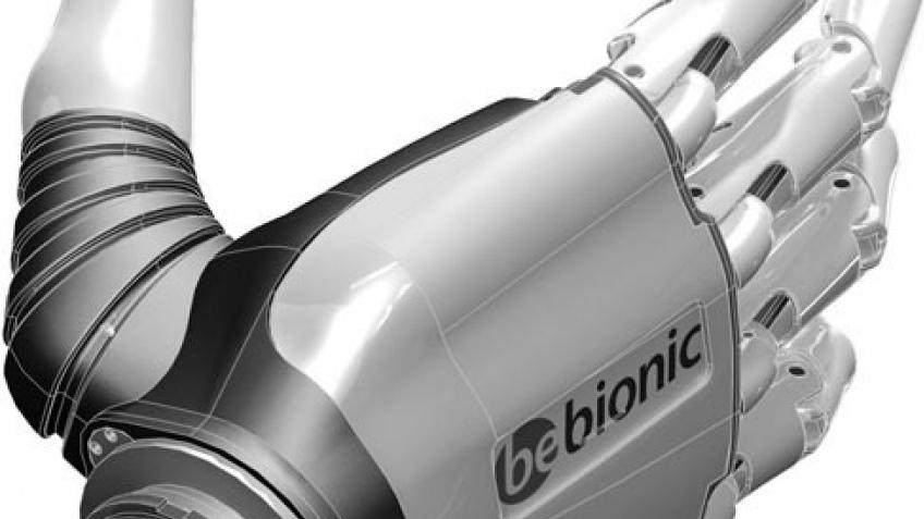 Бионическая кисть BeBeonic, киборги скоро в деле
