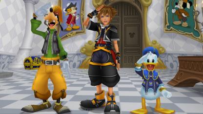 На Nintendo Switch выйдут несколько частей Kingdom Hearts