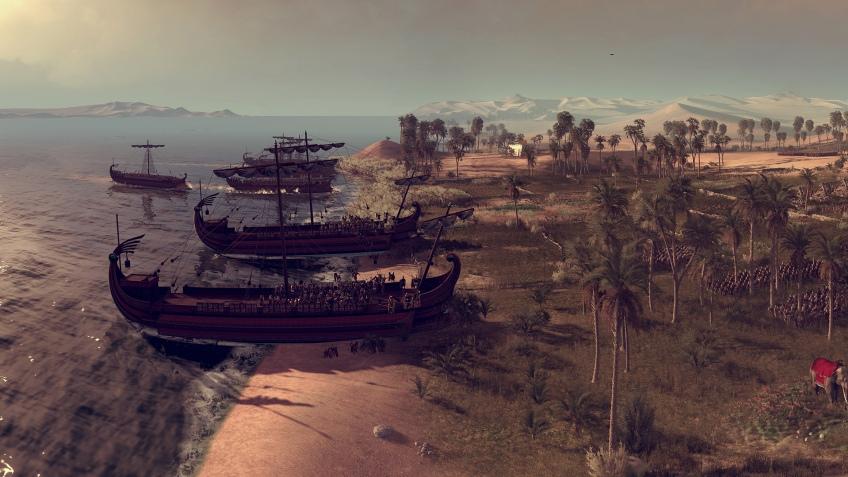 Разработчики Total War: Rome II показали новый огромный скриншот