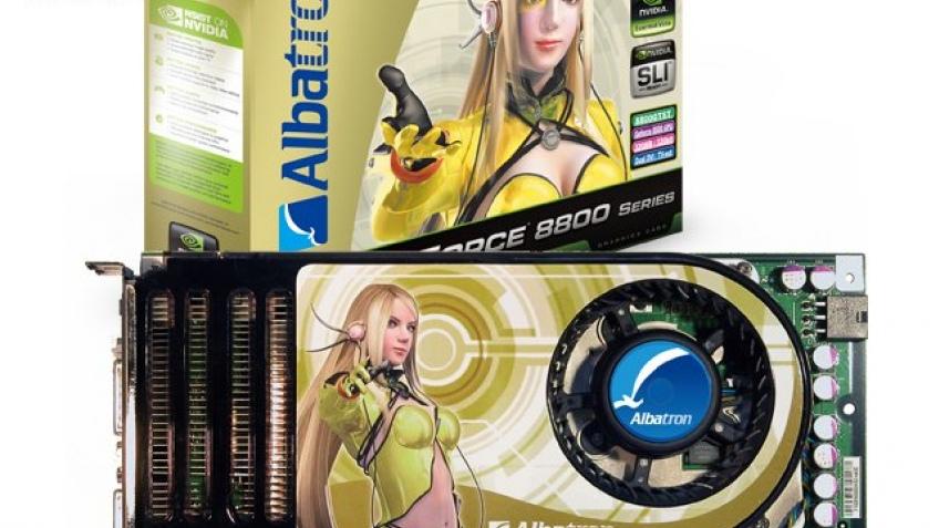 GeForce 8800 GTST от Albatron