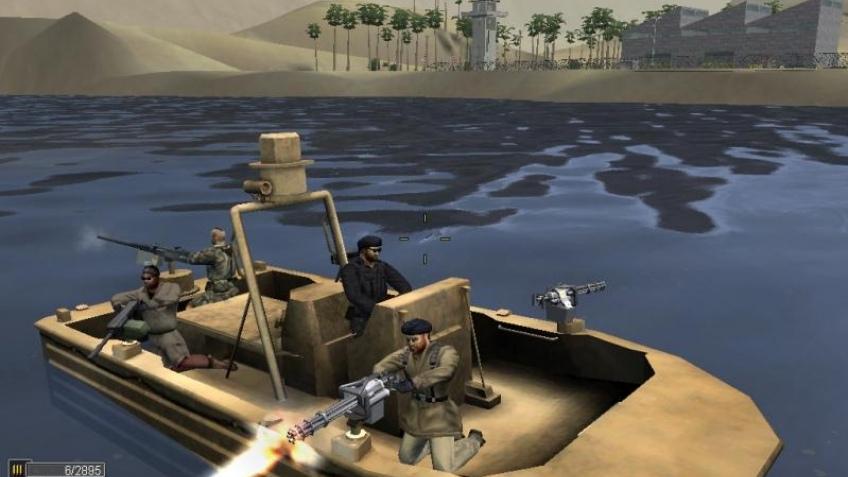 Атакует морская пехота