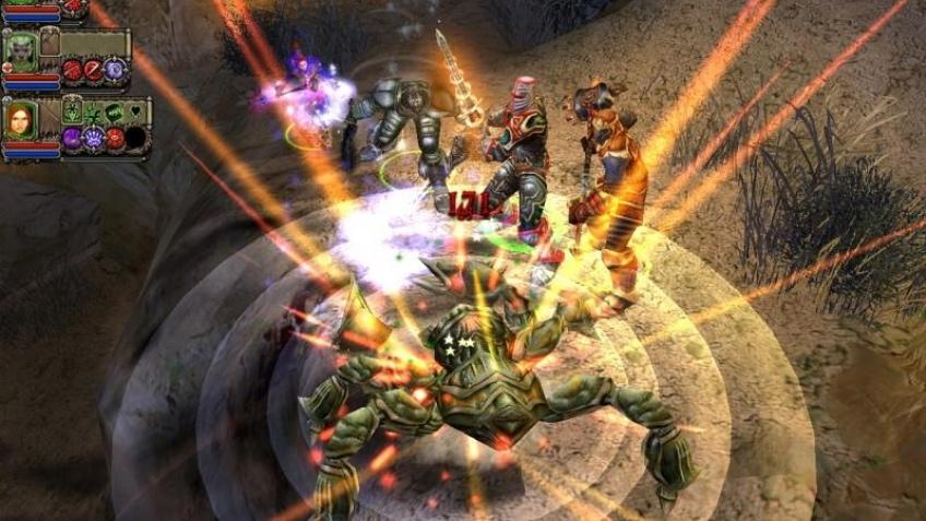 Снимаем Dungeon Siege