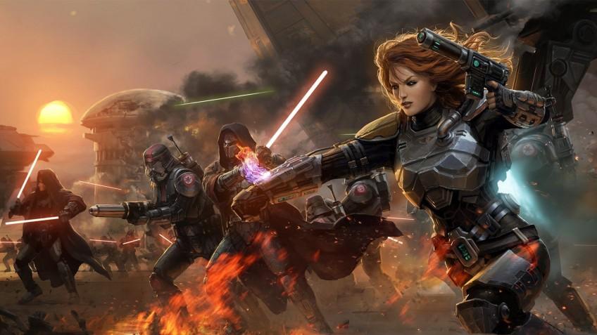 В Star Wars: The Old Republic Империя вновь сразится с Республикой