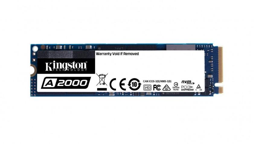 Kingston представила SSD-накопители A2000