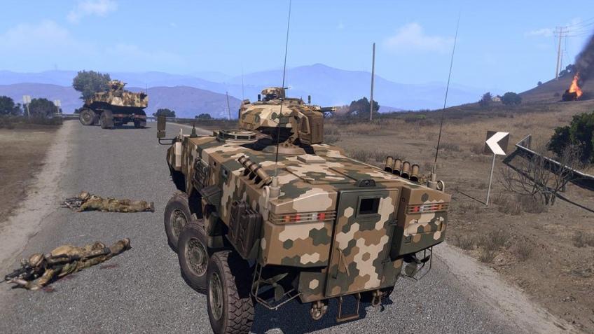 Кампанию Arma3 отложили и разделили на части