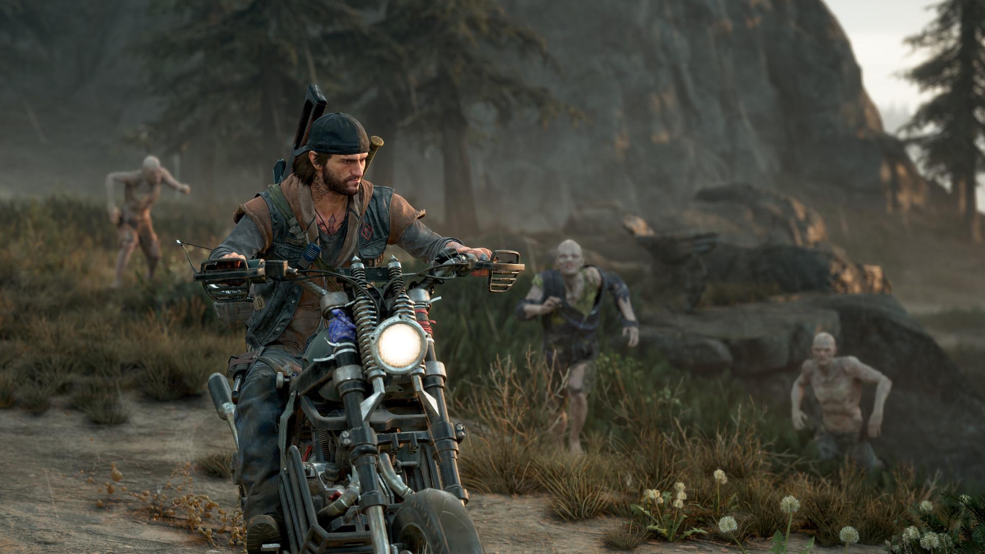 Опубликован свежий геймплей Days Gone на PC — около получаса в 4K