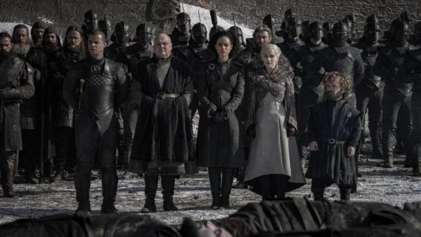 Самые крутые сцены из четвёртой серии 8-го сезона «Игры престолов» в гифках