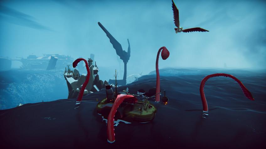 К The Falconeer выпустили бесплатное обновление The Kraken