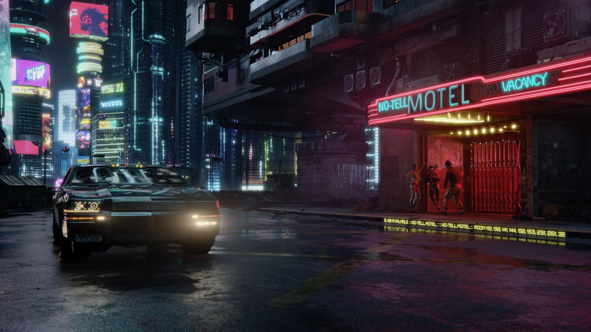 Cyberpunk 2077 получит бесплатные дополнения