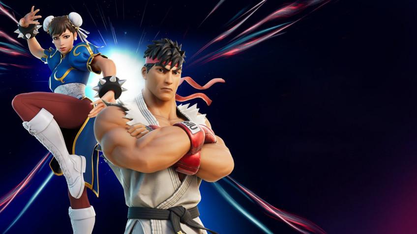 В Fortnite прибывают Рю и Чан-Ли из Street Fighter