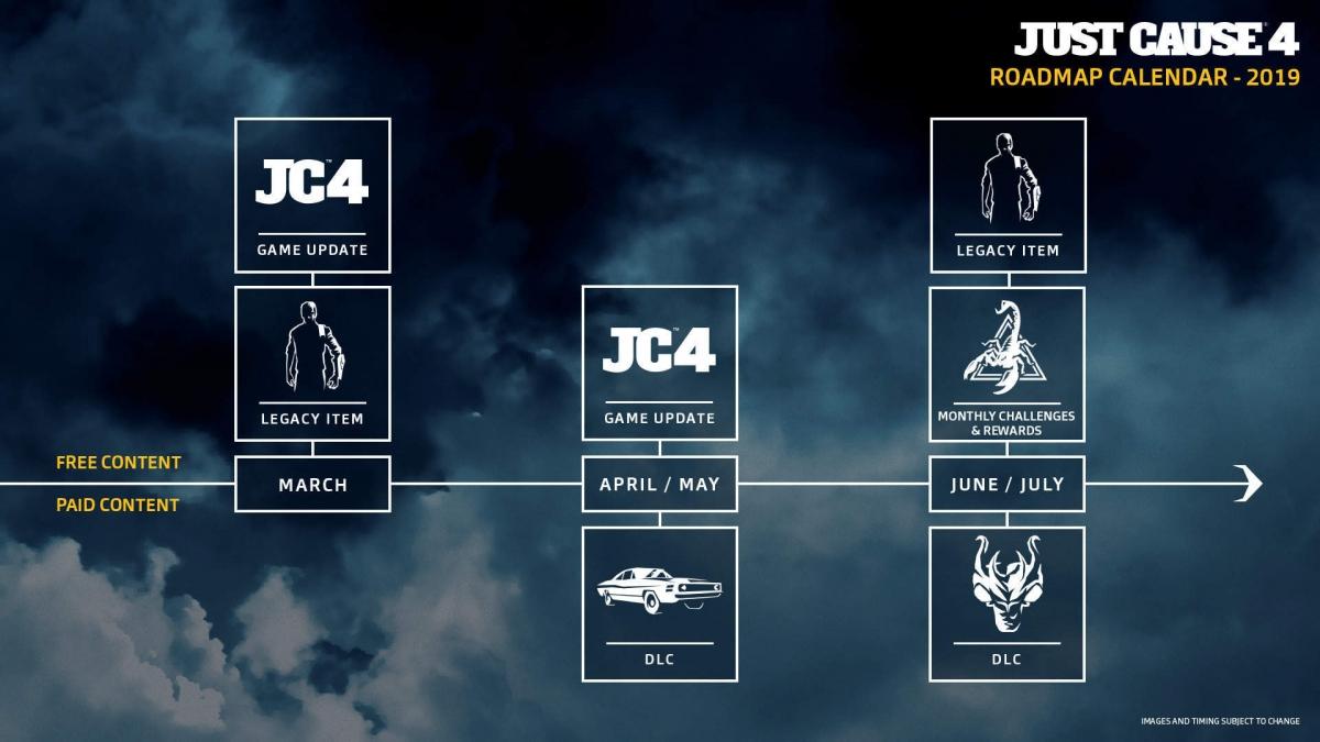 Для Just Cause4 вышел большой патч с масштабным улучшением графики
